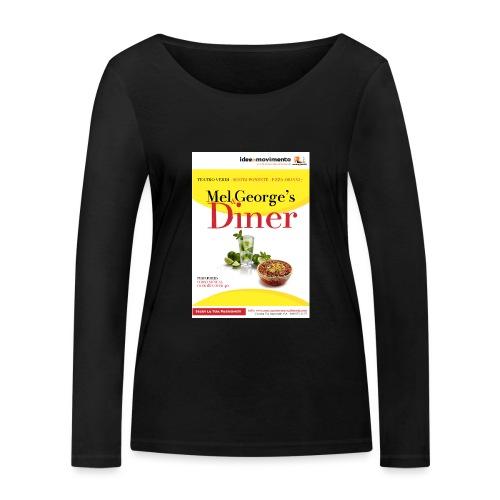 Mel-George-s_diner - Maglietta a manica lunga ecologica da donna di Stanley & Stella