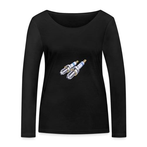 - bujia - - Camiseta de manga larga ecológica mujer de Stanley & Stella