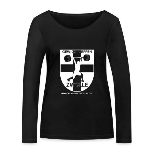 Bestsellers Gewichtheffen Zwolle - Vrouwen bio shirt met lange mouwen van Stanley & Stella