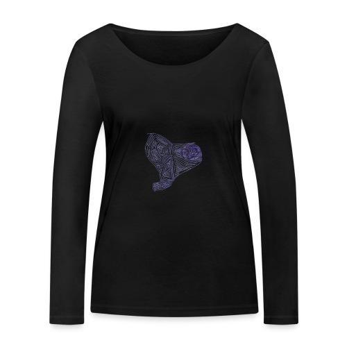 Cuor di Tartaruga Cuore Armato - Maglietta a manica lunga ecologica da donna di Stanley & Stella