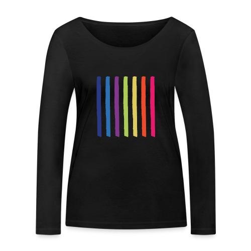 Lines - Women's Organic Longsleeve Shirt by Stanley & Stella