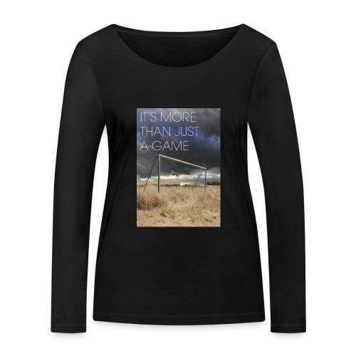 more - Women's Organic Longsleeve Shirt by Stanley & Stella