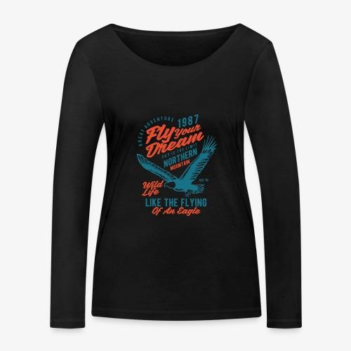 Stehlen Sie Ihren Traum - Frauen Bio-Langarmshirt von Stanley & Stella