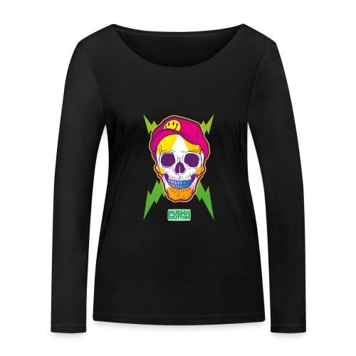 Ptb skullhead - Women's Organic Longsleeve Shirt by Stanley & Stella