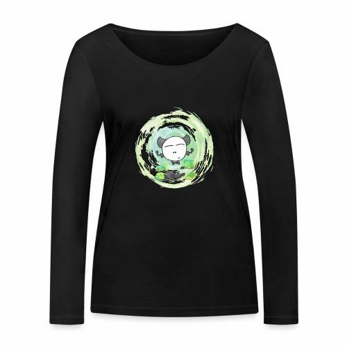 Omm - Kleines Monster - Frauen Bio-Langarmshirt von Stanley & Stella