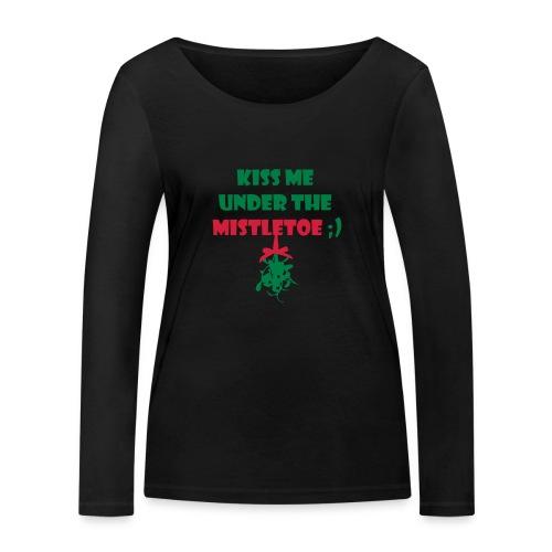 mistletoe - Frauen Bio-Langarmshirt von Stanley & Stella