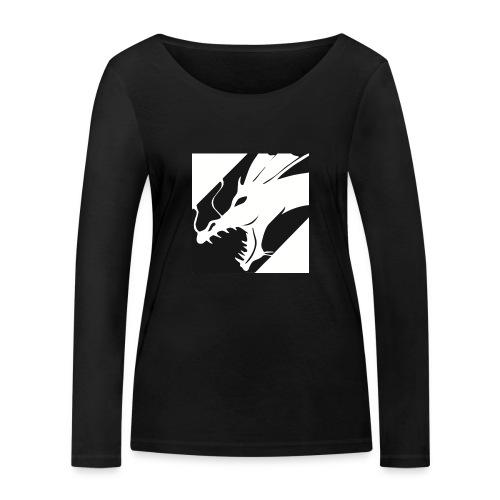 Dragon Black - Vrouwen bio shirt met lange mouwen van Stanley & Stella
