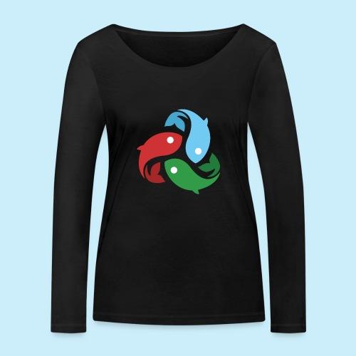 De fiskede fisk - Økologisk Stanley & Stella langærmet T-shirt til damer