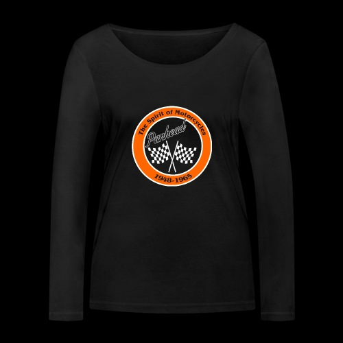 Zielflagge Panhead - Frauen Bio-Langarmshirt von Stanley & Stella