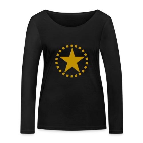 pixknapp png - Ekologisk långärmad T-shirt dam från Stanley & Stella