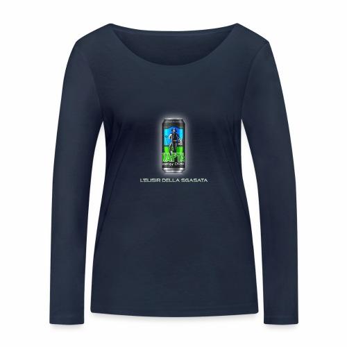 Nafta Energy Drink - Maglietta a manica lunga ecologica da donna di Stanley & Stella
