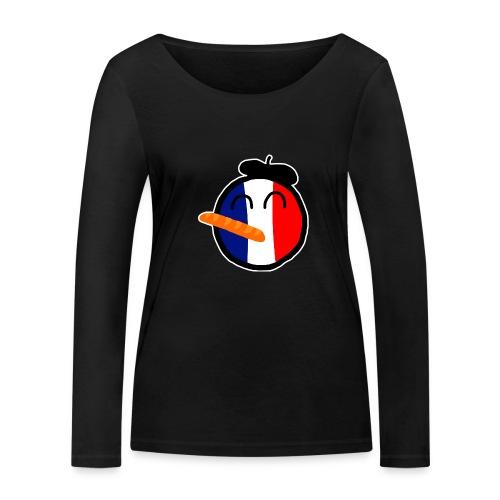 Franceball - Women's Organic Longsleeve Shirt by Stanley & Stella