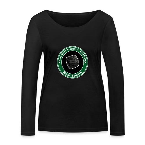 børne Real Tractor Pulling - Økologisk Stanley & Stella langærmet T-shirt til damer