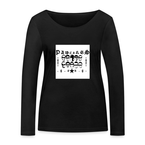 PANCAKESGANG - Ekologiczna koszulka damska z długim rękawem Stanley & Stella