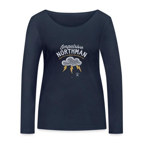 Impulsive Northman - Økologisk Stanley & Stella langærmet T-shirt til damer