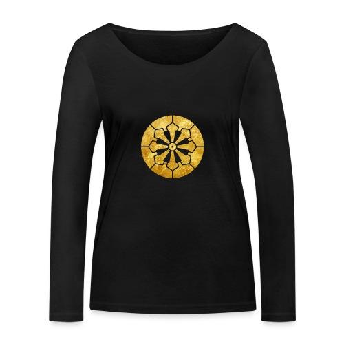 Sanja Matsuri Komagata mon gold - Women's Organic Longsleeve Shirt by Stanley & Stella