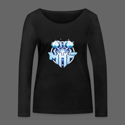 MHF New Logo - Women's Organic Longsleeve Shirt by Stanley & Stella