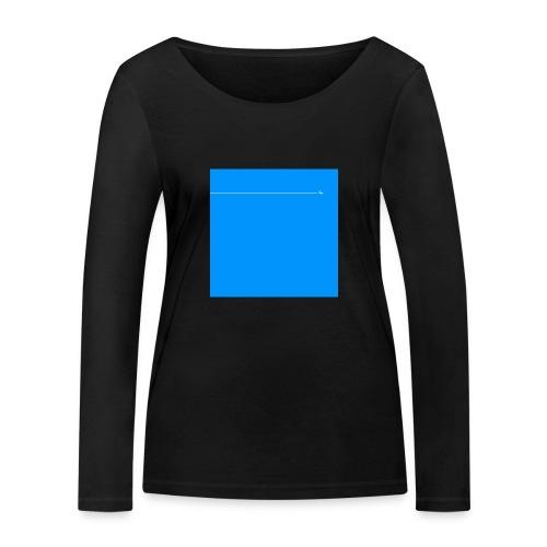 sklyline blue version - T-shirt manches longues bio Stanley & Stella Femme
