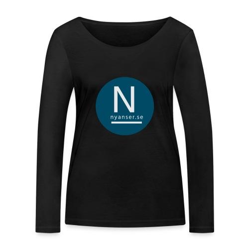 Nyanser.se ärm - Ekologisk långärmad T-shirt dam från Stanley & Stella