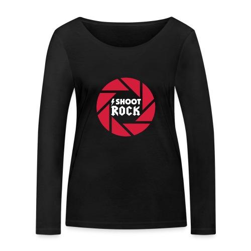 I shoot Rock (white) - Frauen Bio-Langarmshirt von Stanley & Stella
