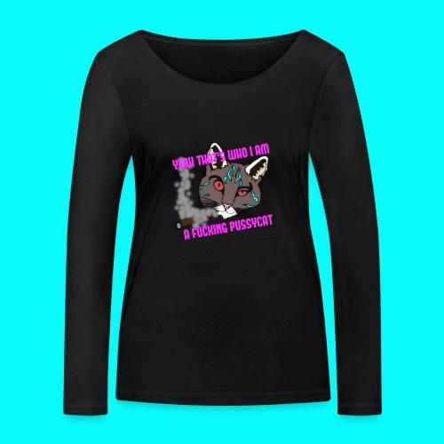 FUCKING PUSSYCAT T-SHIRT - Ekologisk långärmad T-shirt dam från Stanley & Stella