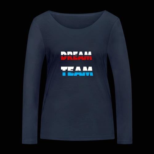 DreamTeam - Økologisk Stanley & Stella langærmet T-shirt til damer