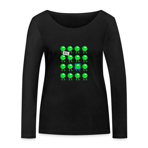 We are all green dots! - Frauen Bio-Langarmshirt von Stanley & Stella