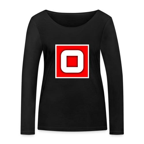 Vanlig Logo (tonåring) - Ekologisk långärmad T-shirt dam från Stanley & Stella