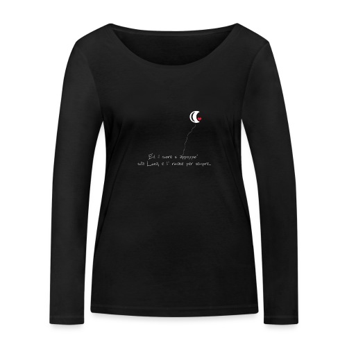 CUORE-E-LUNA - Maglietta a manica lunga ecologica da donna di Stanley & Stella