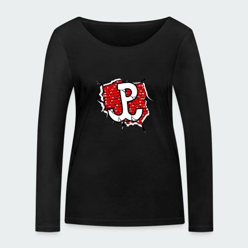 Damska Koszulka Patriotyczna Premium - Ekologiczna koszulka damska z długim rękawem Stanley & Stella