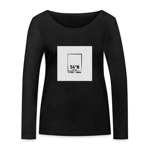 54°Nord square t-shirt edt.4 - Økologisk Stanley & Stella langærmet T-shirt til damer