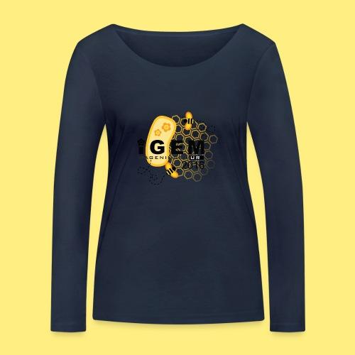 Logo - shirt women - Vrouwen bio shirt met lange mouwen van Stanley & Stella