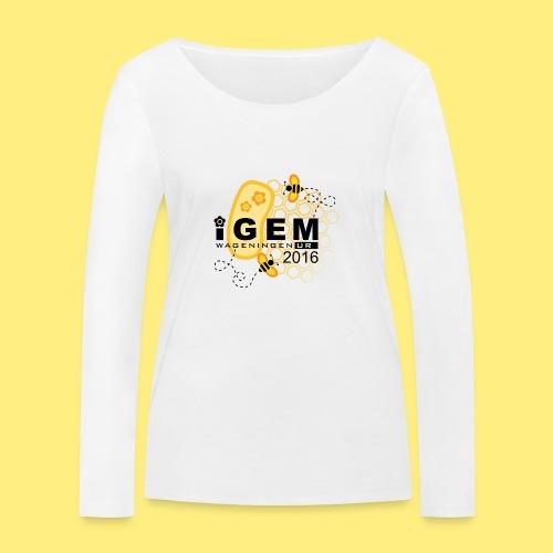 Logo - mug - Vrouwen bio shirt met lange mouwen van Stanley & Stella