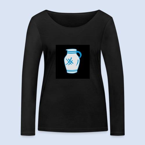 Mein Frankfurt Bembeltown - Frauen Bio-Langarmshirt von Stanley & Stella
