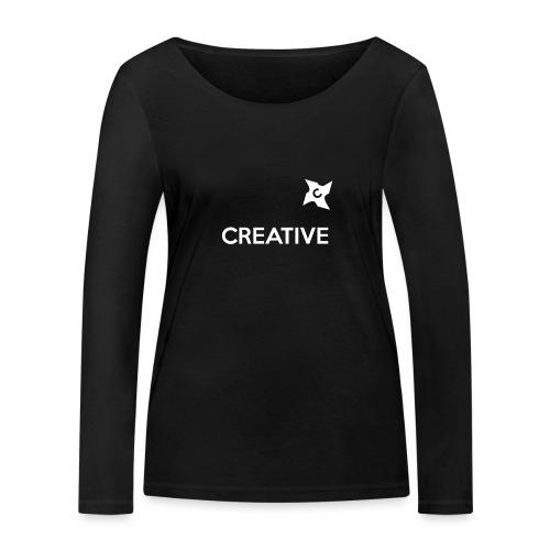Creative long urban shirt - Økologisk Stanley & Stella langærmet T-shirt til damer