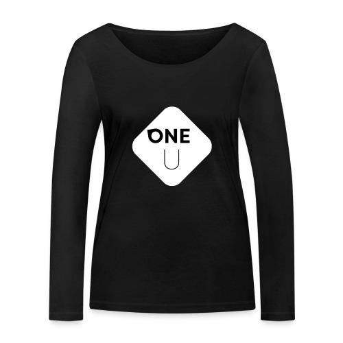 One U - Ekologisk långärmad T-shirt dam från Stanley & Stella
