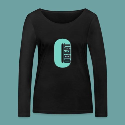 OBeat Logo O - Vrouwen bio shirt met lange mouwen van Stanley & Stella