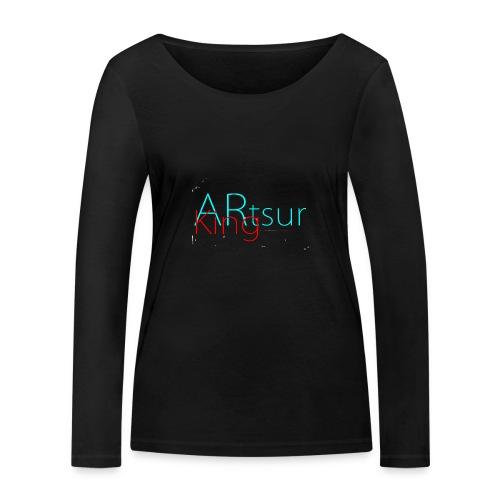 ARtsurKing Logo - Women's Organic Longsleeve Shirt by Stanley & Stella