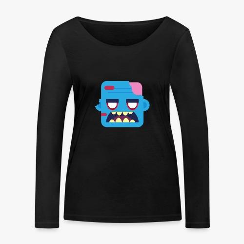 Mini Monsters - Zombob - Økologisk Stanley & Stella langærmet T-shirt til damer