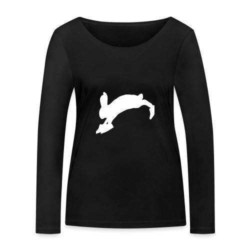 Bunny_Logo - Økologisk Stanley & Stella langærmet T-shirt til damer