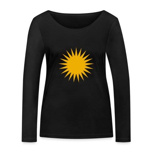 Kurdische Sonne Symbol - Frauen Bio-Langarmshirt von Stanley & Stella