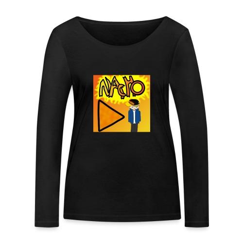 Nacho Title with Little guy - Women's Organic Longsleeve Shirt by Stanley & Stella