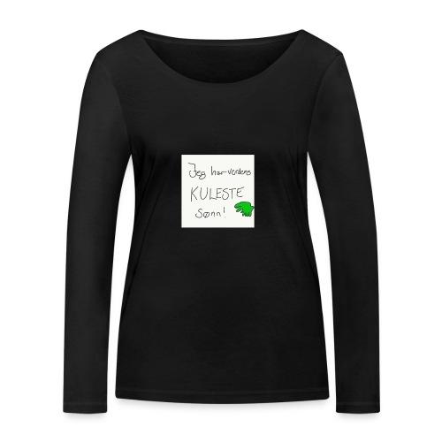 Kul sønn - Økologisk langermet T-skjorte for kvinner fra Stanley & Stella