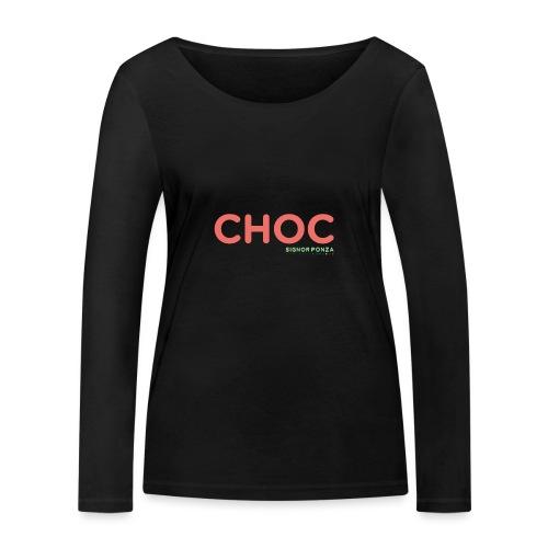 CHOC 2 - Maglietta a manica lunga ecologica da donna di Stanley & Stella