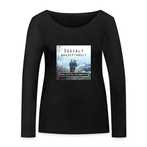 Sosialt Uakseptabelt - Økologisk langermet T-skjorte for kvinner fra Stanley & Stella