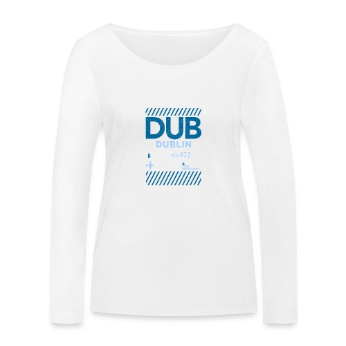 Dublin Ireland Travel - Women's Organic Longsleeve Shirt by Stanley & Stella