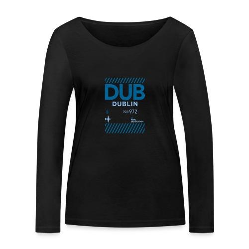 Dublin Ireland Travel - Women's Organic Longsleeve Shirt by Stanley & Stella