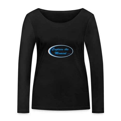 Logo capture the moment - Women's Organic Longsleeve Shirt by Stanley & Stella