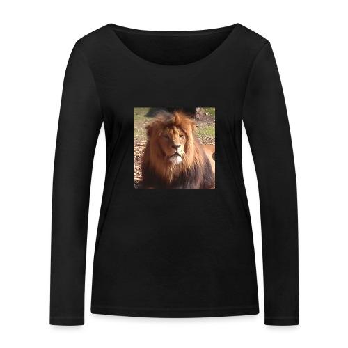Lejon - Ekologisk långärmad T-shirt dam från Stanley & Stella