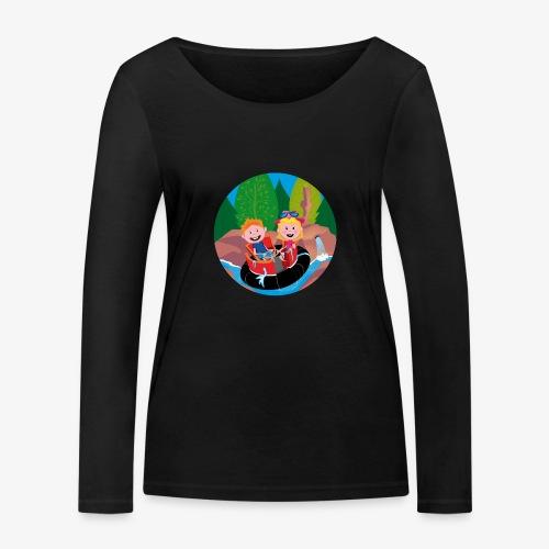 Themepark: Rapids - Vrouwen bio shirt met lange mouwen van Stanley & Stella